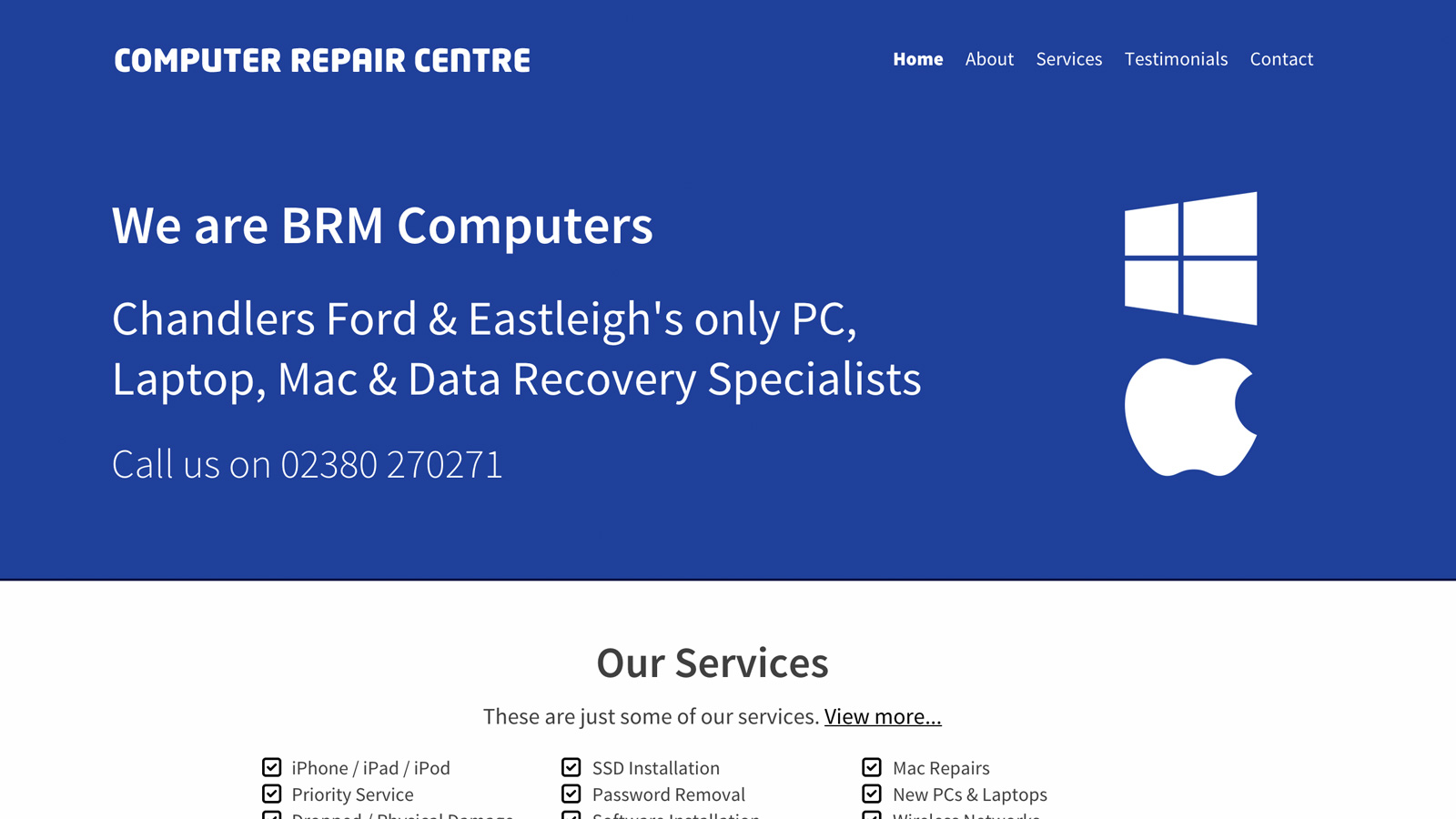 BRM Computers Site